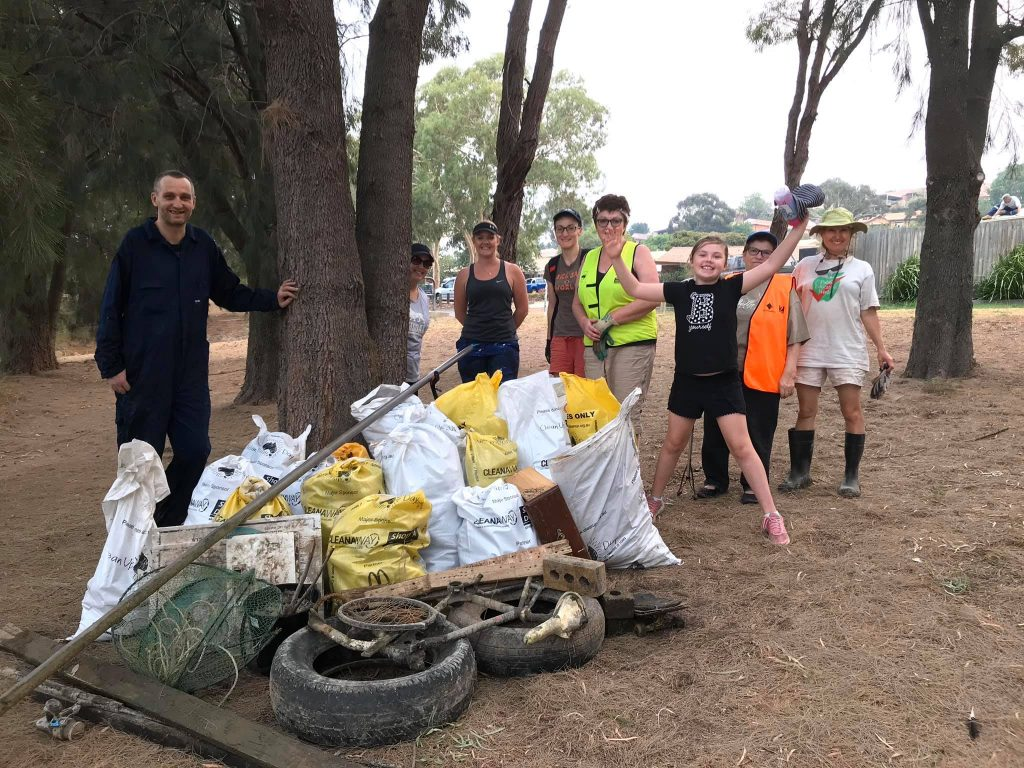 Lanyon litter control group recycling