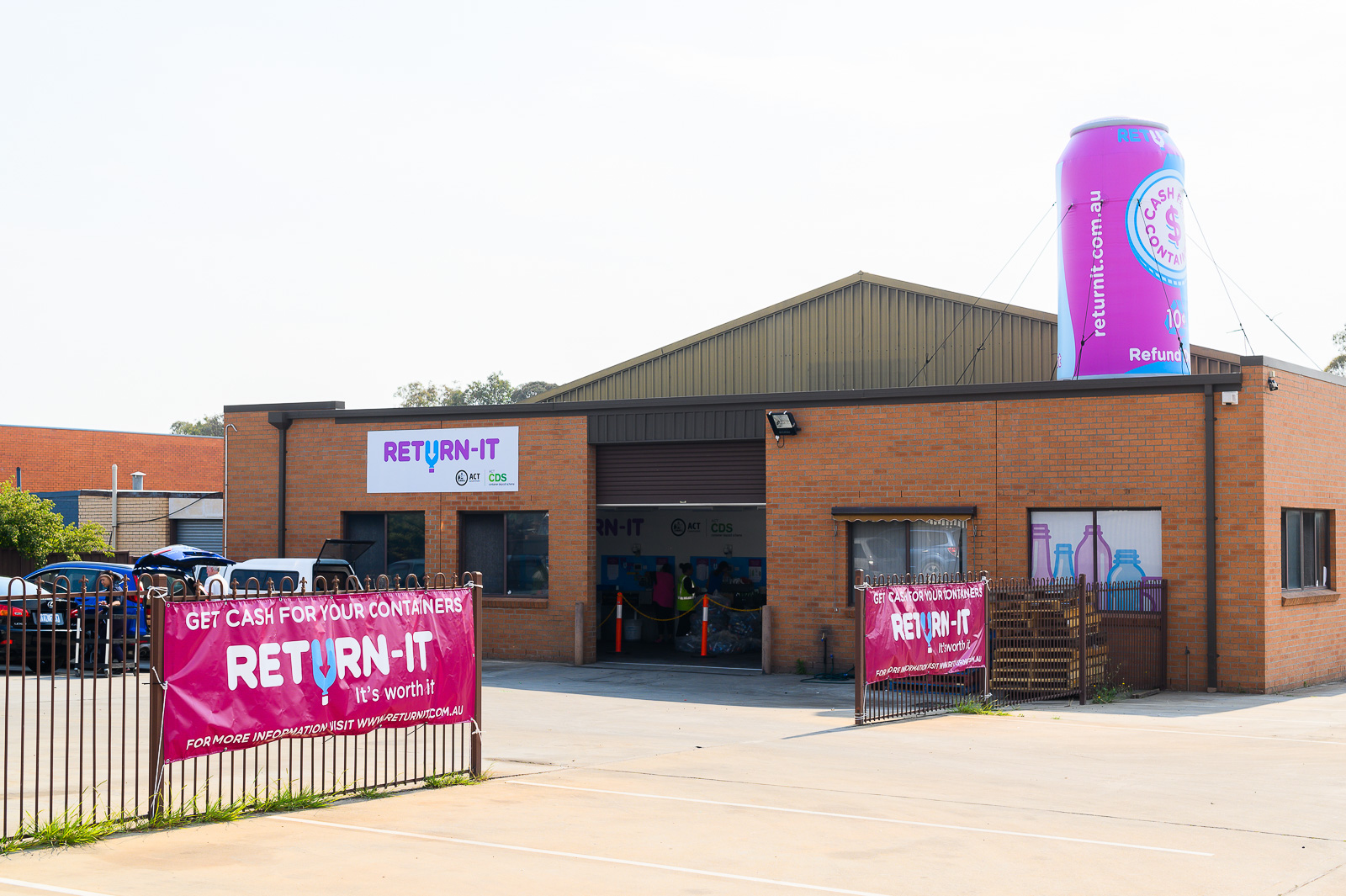 New Mitchell depot